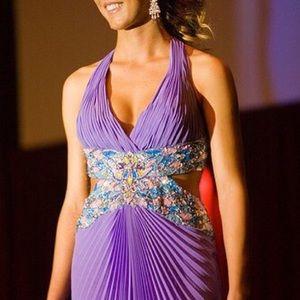 LaFemme Precious Divas Prom Dress Size 0